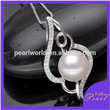 FR529 Beautiful 925 silver crystal pendants design