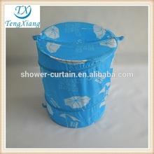 Umbrella printed laundry bin pop-up hamper laundry basket