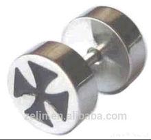 surgical steel ear plugs piercing body jewelry wholesale fake ear plug