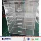 acrylic 7 drawer & clear makeup organizer