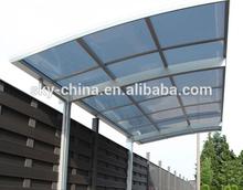Good quality pergola modern polycarbonate carport for car cover