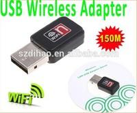 Mini 150M USB WiFi Wireless Network Card 802.11 n/g/b LAN Adapter,Free Shipping+Drop Shipping Wholesale