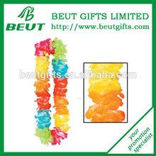 Customized Promotional Colorful Flower Lei Hawaii Flower Hair Comb Hawaii Foam Flower