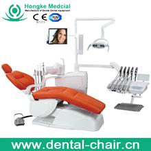 Foshan hongke CE ISO Luxury dental chair manufacture lab coat metal cabinet