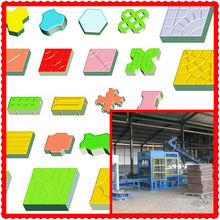 Huatong Professional QT8-25 Automatic concrete colored brick machine