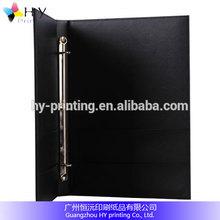 Custom 3 Ring Leather Portfolio