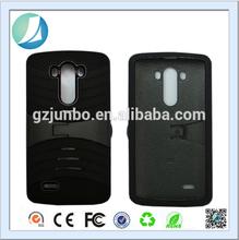 Hybrid Kickstand Mobile Phone Cover For LG G3