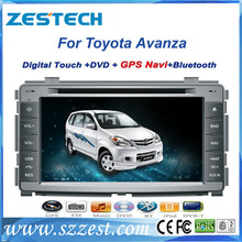 ZESTECH High Quality car radio car accessories for Toyota Avanza with audio dvd player