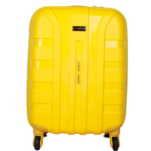 abs pc lightweight spinner rolling trolley luggage
