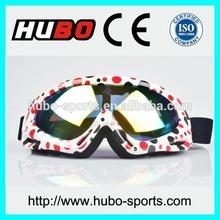 Guangzhou manufacturer custom printed motorcycle eyewear helmet compatible