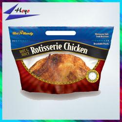 fried chicken bag,roasted chicken packaging bag,hot roast chicken bag