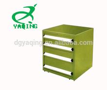 Dongguan Yaqing army green metal tool cabinet,small metal tool box