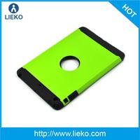TPU and PC combo case with stander for ipad mini/mini2