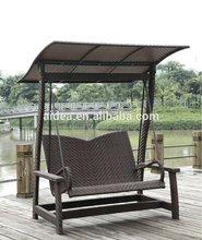 wicker hanging swing chair+outdoor wicker swing chair