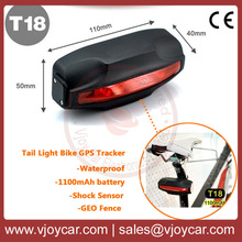 Popular Bike GPS Tracker Easy To Use And Hide,tail lamp design,better than TK305
