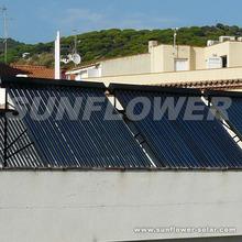 high heat absorbing solar panel