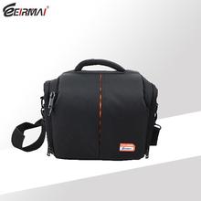 EIREMAI nylon camera shoulder bag school , black camera shoulder bag