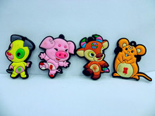 Our new style fashion pig and dog Promotional 3D Soft PVC fridge magnet manufacturers wholesale