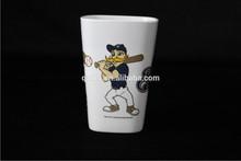 Melamine square mug without handle