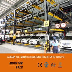 12 cars mini rotary/carrousel parking system