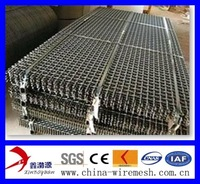 Crimped wire mesh, used as fence or filters in a lot of industries