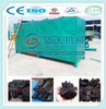Wood tar oil and exhaust gas collected charcoal carbonization furnace