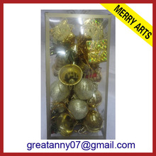 2014 china white ceramic christmas ball decoration ball christmas lighting