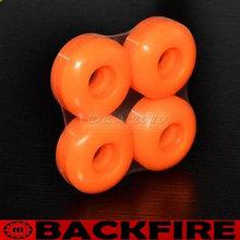 Backfire 52mm 97A Hign Density Pro Blank Street Cruising Skateboard Wheels Orange