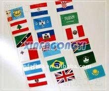 Promotional flag pole flag pole bracket
