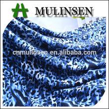 Mulinsen Textile Knitting Poly Spun Single Jersey Animal Skin Printed Monster High Fabric Wholesale
