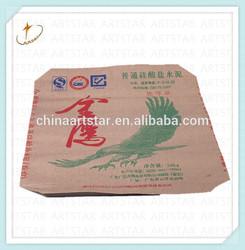 50kg Brown cement packaging bag