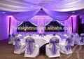 Escenario de la boda decoración. Escenario de la boda de telón de fondo. Telón de fondo de la tubería y la cortina