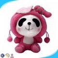 Custom pelúcia urso panda, panda de pelúcia brinquedos, mini brinquedo de pelúcia macia