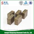bloco de pedra de diamante segmento de corte ferramentas usadas para oficina mecânica