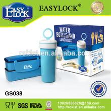 Plastic Bento lunch Box&Water Bottle kids gift wholesale
