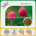China manufacturer supply organic 100% natural trifolium pratense l red clover extract p.e.
