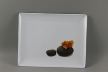 Square Melamine Dessert Plates And Dishes