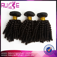 Hot Sale Can be Dyed 100 Kinky Curly Human Indian Hair Decorations