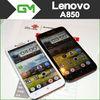 Original Lenovo A850 A850i A850+ 5.5 inch IPS MTK6582m Quad Core mobile phone 1GB RAM 4GB ROM 5mp Android 4.2 GPS Multi Language