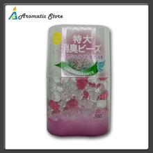 Aroma gel beads for air freshener