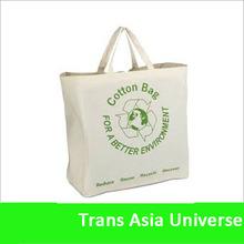 Hot Sale custom 100% cotton canvas tote bag