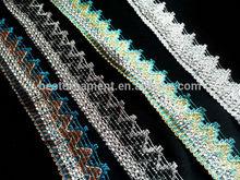 Rhinestone Mesh ribbon lace trimming cake craft lace