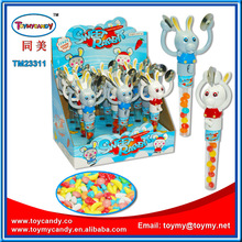 2014 hot selling products sweet rabbit with candy most popular products toys for kids