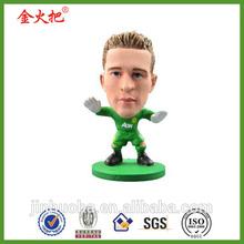 Promotional Custom Soccer player bobblehead for sale&football player bobble head