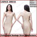 Nuevo estilo caliente- la venta de oro rojo de la boda vestidos de venta al por mayor