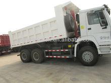 6x4 howo tipper truck Model ZZ3257N3647A 276KW/371HP for cameroon