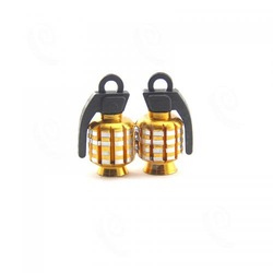 new product Grenade Car Motorcycle Aluminum Valve Caps car accessories