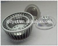 OEM custom aluminum die casting/ aluminium led street light shell/ aluminum die casting lighting fixture