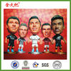 Resin Latest Football player statues for decoration&soccer player