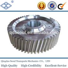 machining JIS standard M1.5 T36 carbon steel sintered metal dgree helical gear wheel for hot sale